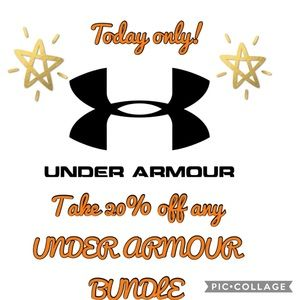 20%  OFF ✅✅ANY UNDER ARMOUR BUNDLE IN MY CLOSET !